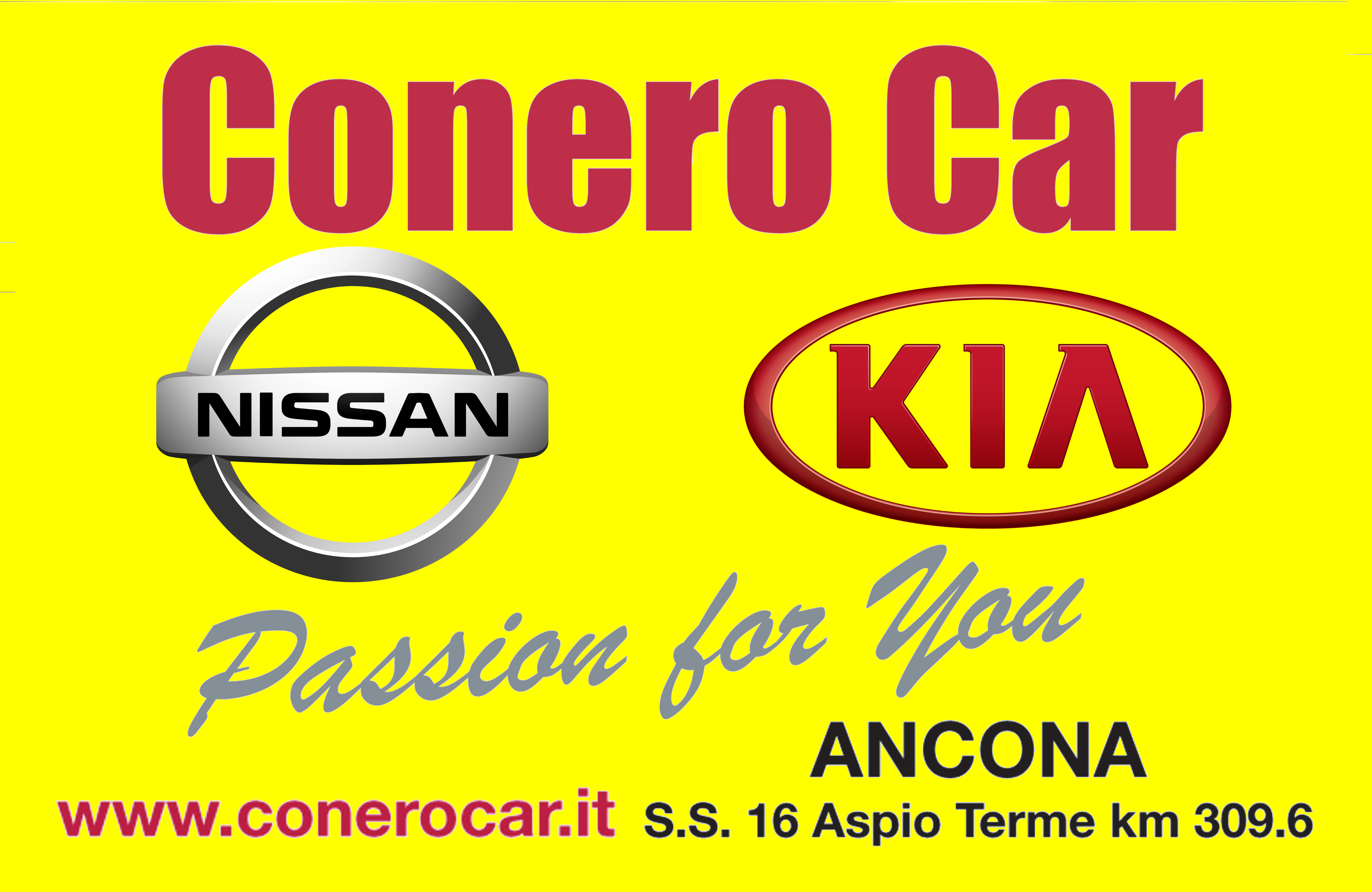 conero car passion for you 5x3